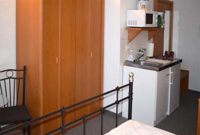 Wohn-Schlafbereich Fewo Leipziger Str 78
